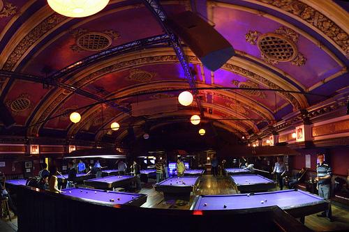 State of the art billiards amp pool hall
